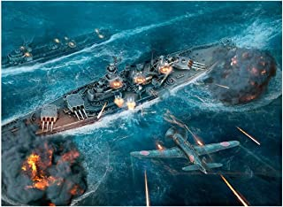 Warship Fighter Wooden Jigsaw Puzzle for Adults IQ Game Intellectual Hands-On Challenge Brain Leisure Time Home Decoration...