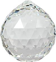 Premium-cristal © Set: cristales SWAROVSKI bola 40 mm - con Láser endografiertem Logo - arco iris cristal - cristal Feng Shui