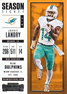 2017 Panini Contenders Football #94 Jarvis Landry Miami Dolphins