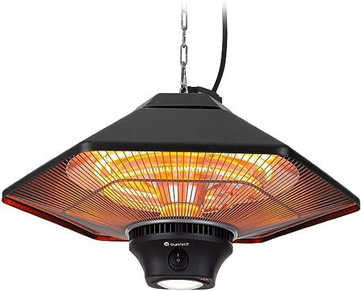 blumfeldt Heat Hexa Infrarot-Heizstrahler Terrassen-Heizstrahler Elektroheizung, Heizleistung: 800/1200 / 2000 W, IR ComfortHeat,…