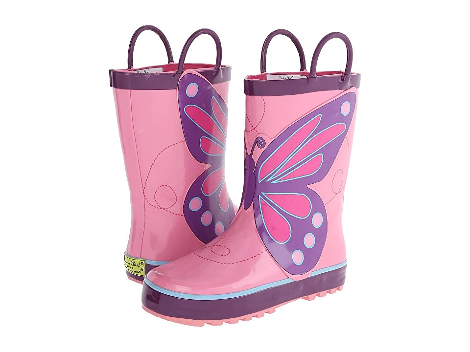 Western Chief Kids Limited Edition Printed Rain Boots (Toddler/Little Kid) (Pink Wings) Girls Shoes