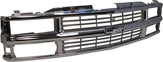 94-02 Chevy C/k Pickup / 94 Blazer / 95-99 Tahoe (Not for Sport) / 94-99 Chevy Suburban Grille All Chrome (For Composite Type Only) GM1200238