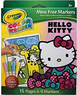 Best crayola color wonder hello kitty Reviews
