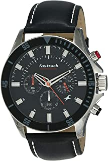 Fastrack Fastrack His and Her Analog Black Dial Men's Watch -NK3072SL02