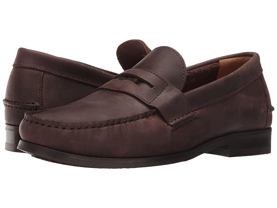 Sebago Conrad Penny (Dark Brown Way Leather) Men