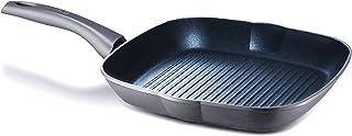 Aeternum Titanium Induction - Sartén parrilla (aluminio, 28 cm), color gris