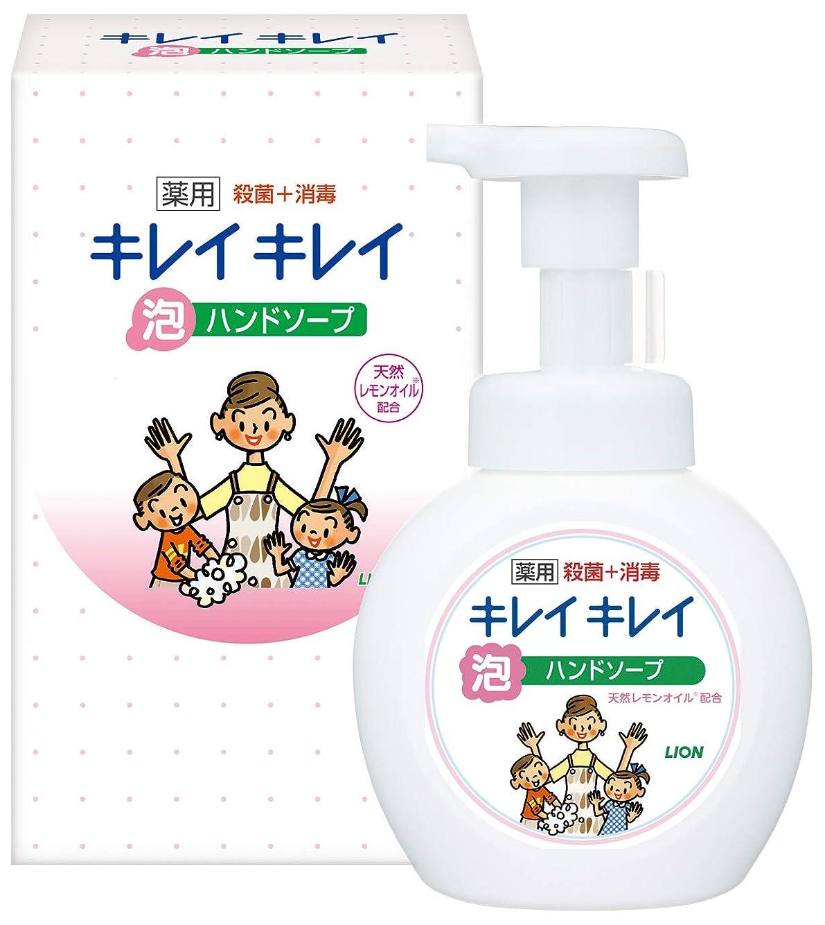 生産的豚肉ユーモアLION キレイキレイ薬用泡ハンドソープ250ml ノベルティギフト用化粧箱入