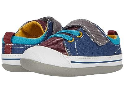 See Kai Run Kids Stevie II (Infant/Toddler) (Burgundy/Blue) Boy