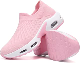 Women's Running Shoes Breathable Comfortable Walking...