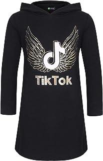 Grey, 13-14years Girl TIK Tok Hoodies Pants Set Cool Sweatshirt Unisex Kids Clothes Set Trousers