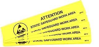 Botron B6716 ESD Work Area Bench Sign 6'' x 1''