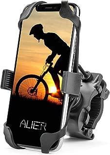 Motorcycle & Bike Phone Mount, 360° Adjustable, Universal Cell Phone Bicycle Holder & Motorcycle Handlebar iPhone Xs Max XR X 8 7 6 5 Plus Galaxy Note, Motorola, Nexus, LG - Up to 3.5