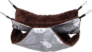 Opknoping bed, stevige duurzame huisdier hangmat zachte huisdieren hamster hangmat huisdier(Grey Rabbit, 34 * 34)