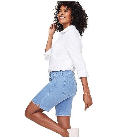 NYDJ Ella Shorts with Side Slits (Belle Isle) Women