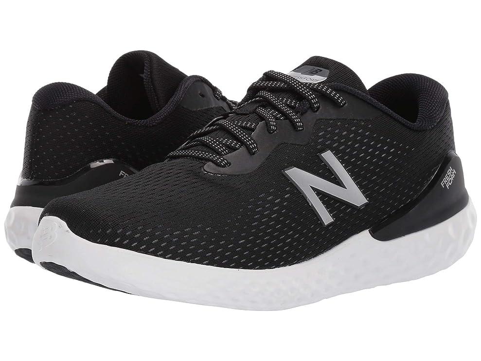 文字やがてハード[ニューバランス] メンズウォーキングシューズ?靴 Fresh Foam 1365 Black/Magnet 12 (30cm) EE - Wide [並行輸入品]