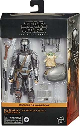 discount Star online sale Wars The Black popular Series Din Djarin (The Mandalorian) and The Child sale