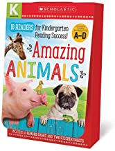 Amazing Animals A-D Kindergarten Box Set: Scholastic Early Learners (Guided Reader)