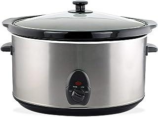 Olla eléctrica de cocción lenta 6,5 l Slow Cooker Crock Pot de cerámica 320 W