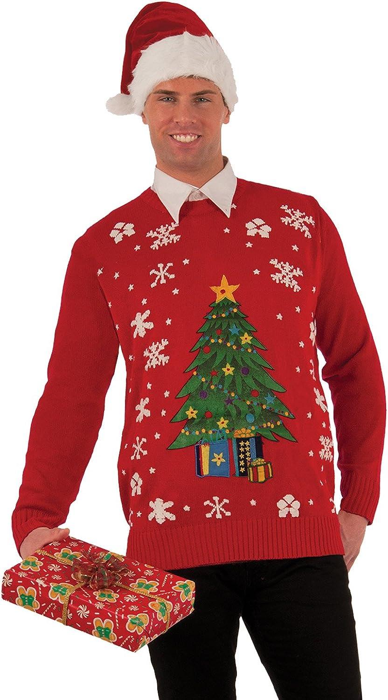 Forum Novelties Christmas Tree Ranking TOP12 Large Costume Under blast sales Adult Sweater