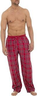 i-Smalls Men's Checked 100% Cotton Pyjama Bottoms Lounge Pants