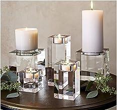 Candlesticks Religious Candle Holders Tealight Candlestick Wedding Decorations Centerpieces Bonus (Color : 3Pcs A Set)