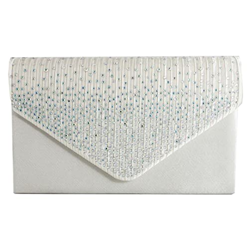7fd0820f63cc fi9® LADIES DIAMANTE BLING PARTY PROM BRIDAL EVENING CLUTCH HAND BAG PURSE  HANDBAG