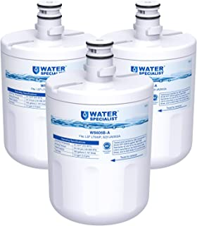 Waterspecialist NSF 53&42 Certified 5231JA2002A Refrigerator Water Filter, Replacement for LG LT500P, GEN11042FR-08, LFX25974ST, ADQ72910901, ADQ72910907, Kenmore 9890, 46-9890, 469890 (Pack of 3)
