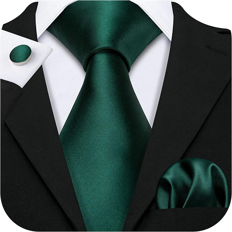 Xuzon 16 Styles Coral Pink Wedding Tie Peach Solid 100% Silk Ties Men Party Business Luxury Brand Neckties Set
