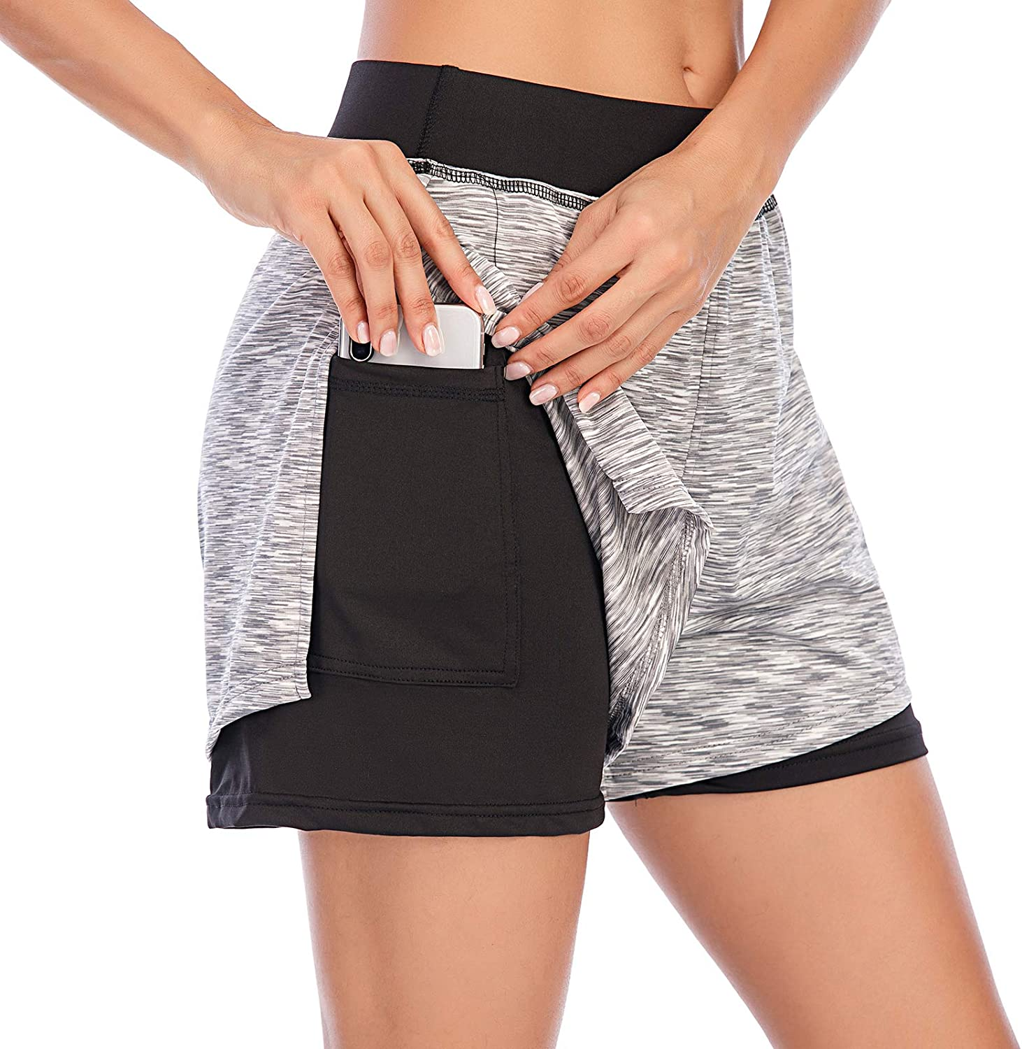 PP PLUIE POURPRE Athletic Shorts for in 2 Cheap mail order specialty store 1 Workout mart Runnin Women