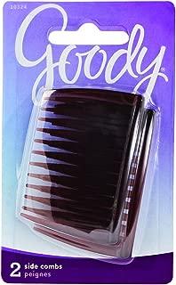 Goody Side Hair Combs, Mock Tortoise, 2-count