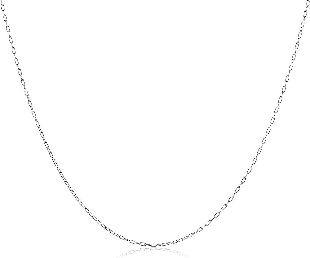Miore collana per donna, oro bianco 18k (750) (1.45 grammi) CHNV18W