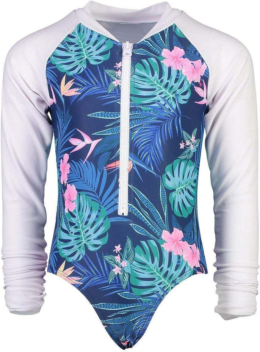 Rain Forest LS Surf Suit