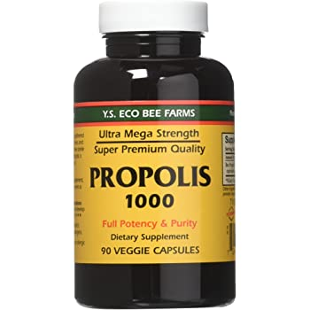 YS Eco Bee Farms Propolis 1000 - 90 Count (Pack of 3)