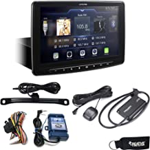 Alpine iLX-F309 HALO9 Receiver w/ 9-inch Touch Screen, Single-DIN Mounting, Includes SWI-RC, SiriusXM Tuner & Backup Cam