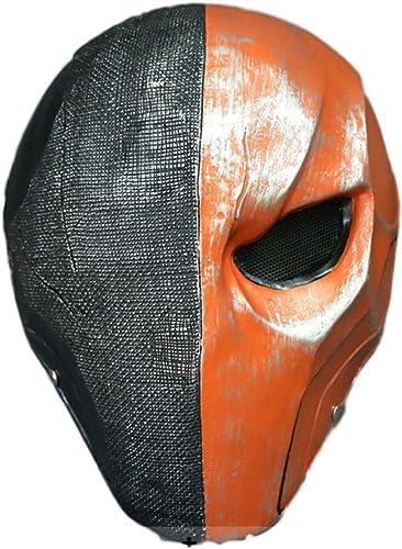 precios mas bajos Máscara De Cosplay Máscara Máscara Máscara De La Muerte Casco Villano Mercenario Máscara De Halloween Apoyos Película Terminator Arkham Máscara,DeathBellMask-OneTalla  más vendido