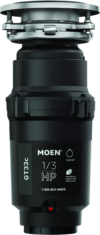 Max 49% OFF Moen GT33C Lite Series 1 3 unisex Dis Horsepower Garbage Continous Feed