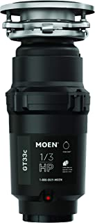 Moen GT33C GT Series 1/3 Horsepower Garbage Disposal, with Fast Track Technology