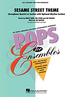 Sesame Street Theme for Saxophone Quartet