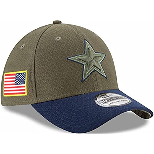 ae20692177383 Dallas Cowboys 2017 Salute to Service Flex Fit Hat