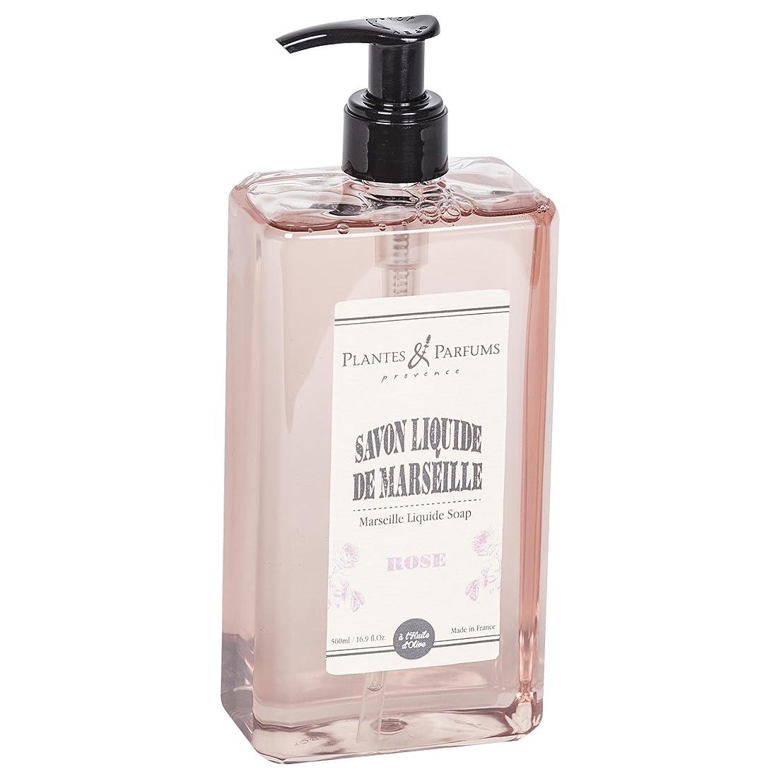 安いです肥料寝てるPlantes&Parfums [プランツ&パルファム] マルセイユリキッドソープ ローズ