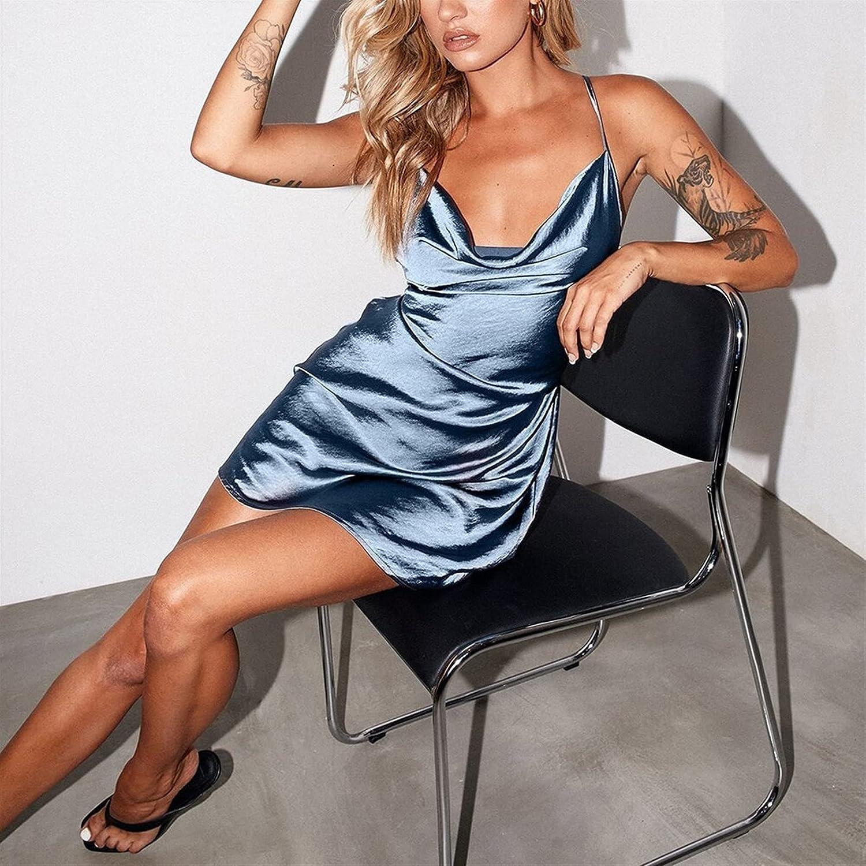 GDYJP Womens Camisole Night Super beauty product Super sale period limited restock quality top Club Women Dress Summ Homewear Satin