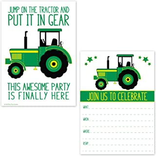 Best boy tractor birthday invitations Reviews