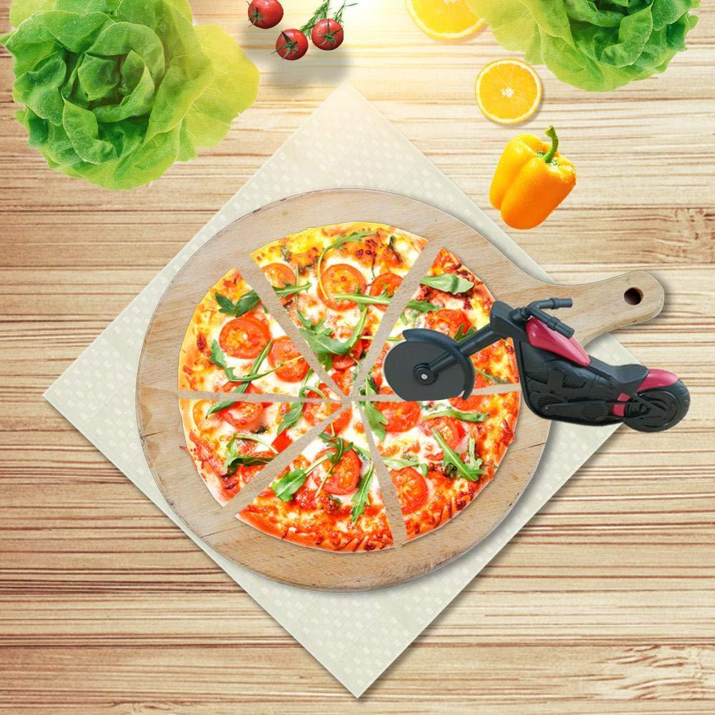Bibike Pizza - Cortador de pizza para motocicleta: Amazon.es: Hogar