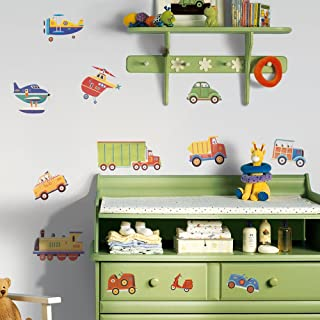 RoomMates Transportation Peel and Stick Wall Decals