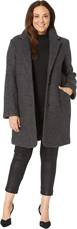 de8c28e1246 Charcoal. 28. Marc New York by Andrew Marc. Plus Size Paige - Pressed Boucle