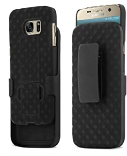 Galaxy S7 Case, Aduro Shell & Holster Combo Case Super Slim Shell Case w/