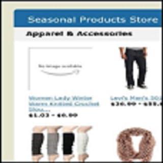 Seasonal Products Store