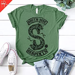 Riverdale South Side Serpents Inspired - Netflix Tv Show - Unisex Graphic T-Shirt