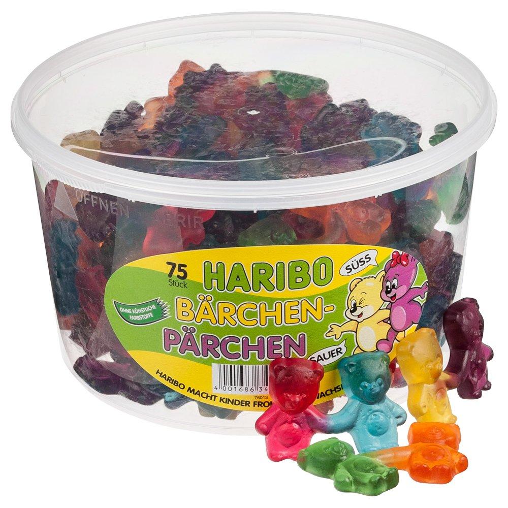 Haribo Bears Couples Fruit jelly Jelly 75 Gums Popular standard pi Finally resale start Wine