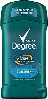 Degree Antiperspirant Dry Protection, Twin Pack, Cool Rush, 2.7 oz (Pack of 2)
